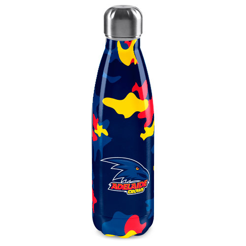 Adelaide Crows Insulated Drink Bottle Flask