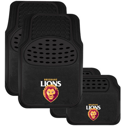 Brisbane Lions Car Floor Mats