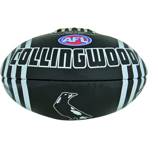 Collingwood Magpies Size 2 PVC Football
