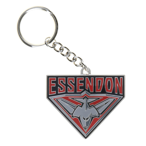 Essendon Bombers Logo Metal Keyring