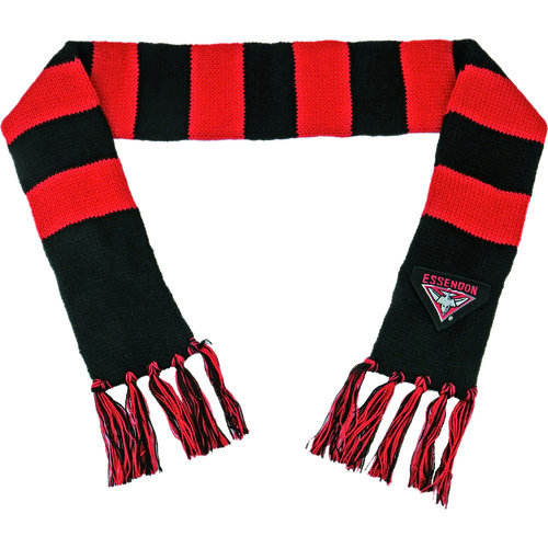 Essendon Bombers Baby Bar Scarf