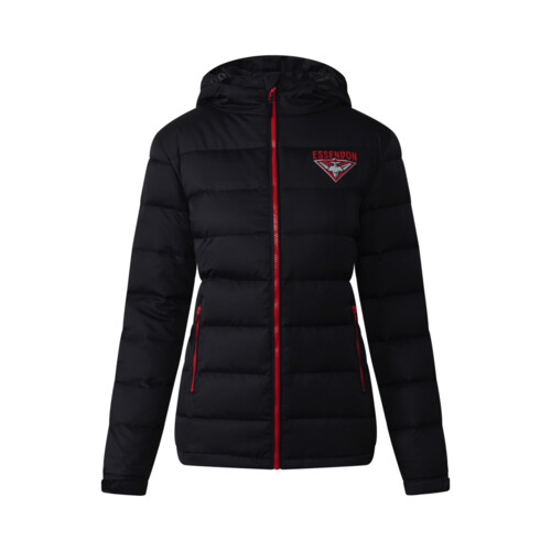 Essendon Bombers Womens Down Jacket Size:8