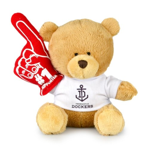 Fremantle Dockers No.1 Supporter Bear