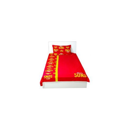 Gold Coast Suns Single Doona Cover