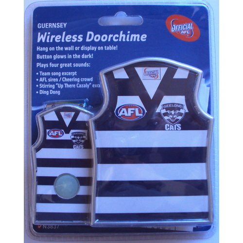 Geelong Cats Guernsey Shaped Door Chime