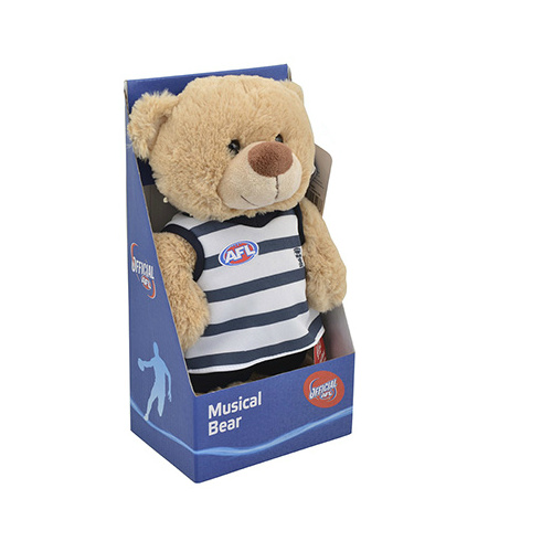 Geelong Cats Musical Bear