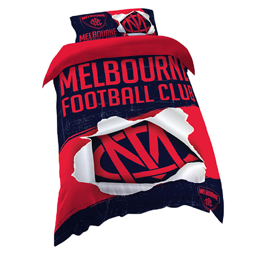 Melbourne Demons Single Doona Cover