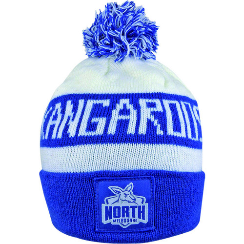 North Melbourne Kangaroos Bar Beanie