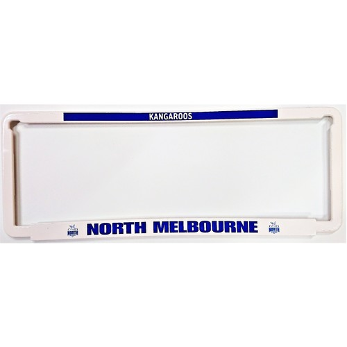 North Melbourne Kangaroos Car Number Plate Surrounds