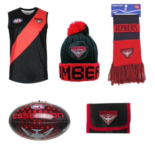 Essendon Bombers Kids Supporter Pack