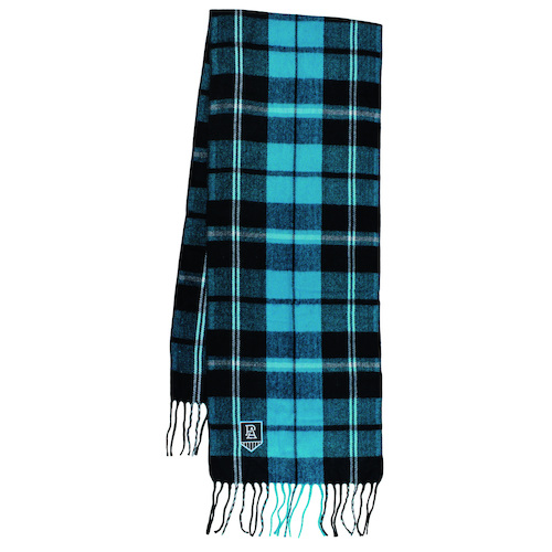 Port Adelaide Power Tartan Scarf
