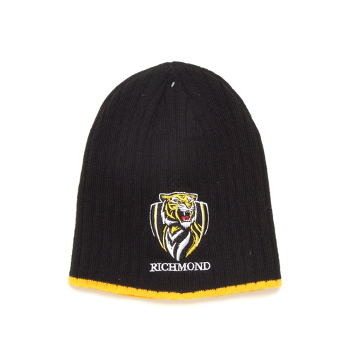 Richmond Tigers Rib Knit Beanie