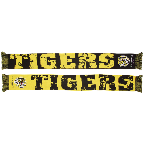 Richmond Tigers Impact Jacquard Scarf