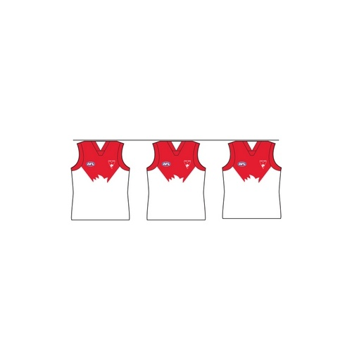 Sydney Swans Party Bunting