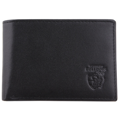 Western Bulldogs Leather Wallet