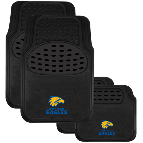 West Coast Eagles Car Floor Mats